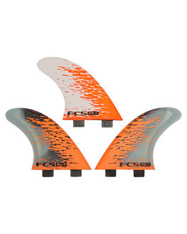 ORANGE SMOKE BOARDSPORTS SURF FCS FINS - PC07-147-00-RORGSM