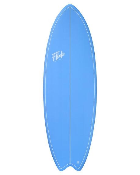 BLUE BOARDSPORTS SURF FLICK SOFTBOARDS - FLK-FBOARD-BLUE