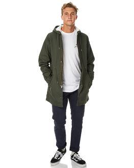 MILITARY MENS CLOTHING RVCA JACKETS - R173432MIL