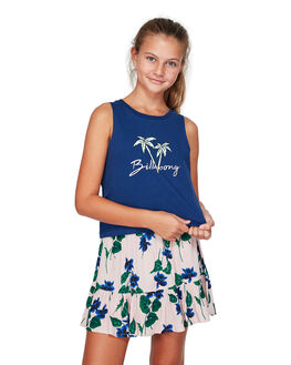 TWILIGHT BLU KIDS GIRLS BILLABONG TOPS - BB-5592182-TWU