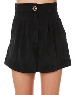 BLACK WOMENS CLOTHING SANCIA SHORTS - 853ABLK