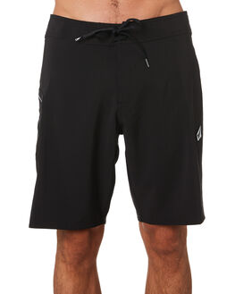 BLACK MENS CLOTHING VOLCOM BOARDSHORTS - A0811926BLK