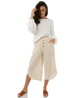 NATURAL WOMENS CLOTHING ZULU AND ZEPHYR PANTS - ZZ1804NAT
