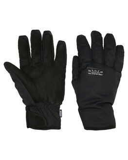 BLACK BOARDSPORTS SNOW POW GLOVES - ZEG-C-S-HIP-BKBLK