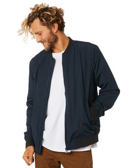 NAVY MENS CLOTHING ACADEMY BRAND JACKETS - 19W213NVY