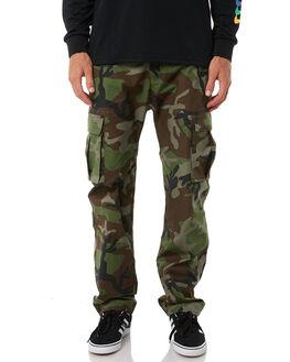 MEDIUM OLIVE MENS CLOTHING NIKE PANTS - 885863222