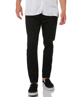 BLACK WHITE MENS CLOTHING ZANEROBE PANTS - 726-MAKBKWH