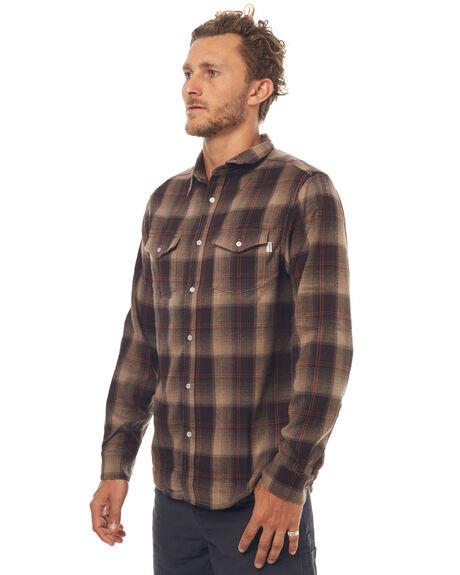 COFFEE MENS CLOTHING RHYTHM SHIRTS - OCT17M-WT02-COF