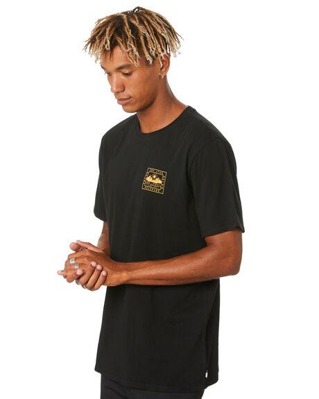 BLACK MENS CLOTHING DEPACTUS TEES - D5204000BLACK