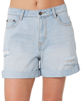 SALT BLUE WOMENS CLOTHING RUSTY SHORTS - WKL0645STE