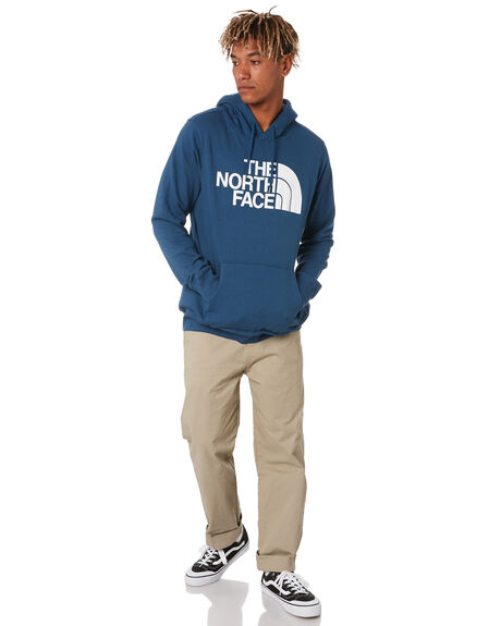 BLUE WING TEAL MENS CLOTHING THE NORTH FACE JUMPERS - NF0A4M4BN4L