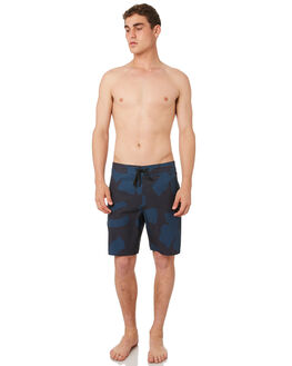 DEEP BLUE FLOWER CUT MENS CLOTHING OUTERKNOWN BOARDSHORTS - 1810025DFC