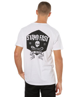 WHITE MENS CLOTHING SEA SHEPHERD TEES - SSA834BWHT