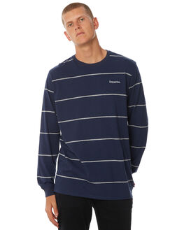 NAVY MENS CLOTHING DEPACTUS TEES - D5184104NAVY