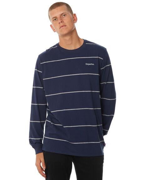 NAVY MENS CLOTHING DEPACTUS TEES - D5184104NAVY