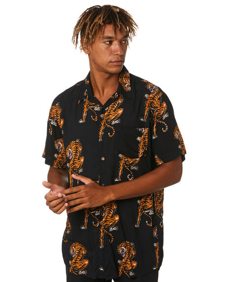 WARPED TIGER MENS CLOTHING THE PEOPLE VS SHIRTS - HS20M036WRTG