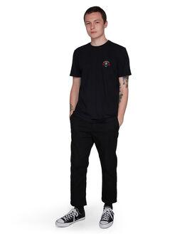 BLACK RINSE MENS CLOTHING ELEMENT TEES - EL-107017-2BR