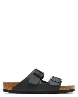 BLACK WOMENS FOOTWEAR BIRKENSTOCK SLIDES - 551251WBLK