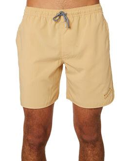 SUNBLEACHED YELLOW MENS CLOTHING RHYTHM BOARDSHORTS - JAN19M-JM10-YEL