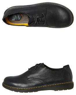 BLACK WOMENS FOOTWEAR DR. MARTENS FLATS - SS23951001BLKW