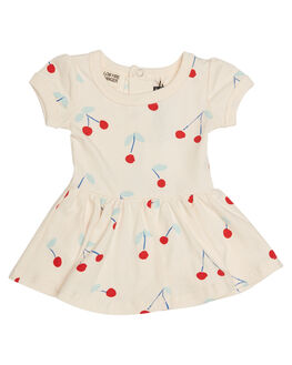 CHERRY PRINT KIDS BABY ROCK YOUR BABY CLOTHING - BGD1723-CBCHR
