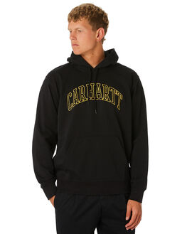 BLACK YELLOW MENS CLOTHING CARHARTT JUMPERS - I02626889