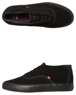 BLACK BLACK MENS FOOTWEAR GLOBE SKATE SHOES - GBSPROUTM-10006