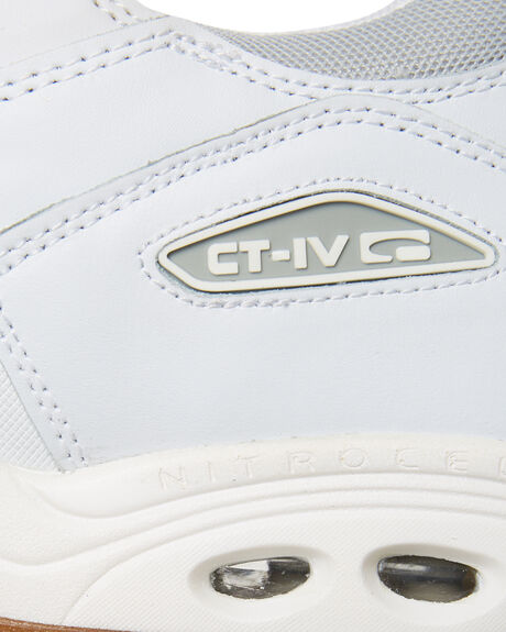 WHITE GUM OUTLET MENS GLOBE SKATE SHOES - SSGBCTIVC11126M