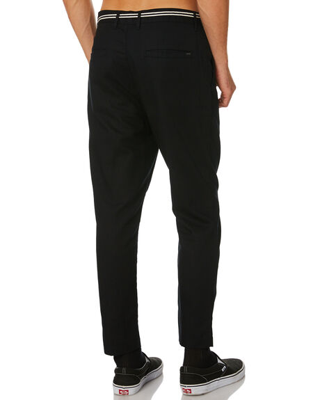 BLACK OUTLET MENS ZANEROBE PANTS - 701-WORDBLK