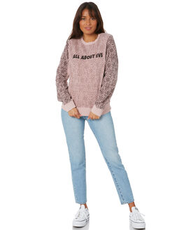 PINK WOMENS CLOTHING ALL ABOUT EVE JUMPERS - 6453030PNK