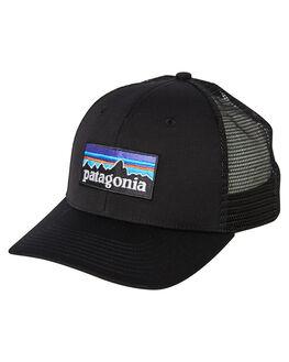BLACK MENS ACCESSORIES PATAGONIA HEADWEAR - 38016BLK