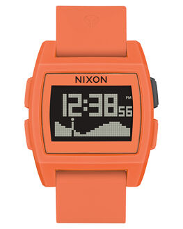 ORANGE RESIN MENS ACCESSORIES NIXON WATCHES - A11042554