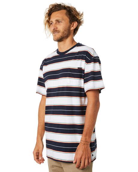 WHITE MENS CLOTHING RUSTY TEES - TTM2007WHT