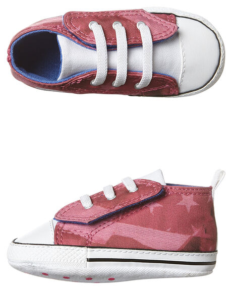 b342918938b5 Converse Baby Chuck Taylor First Star Easy Shoe - Mod Pink Oxygen ...