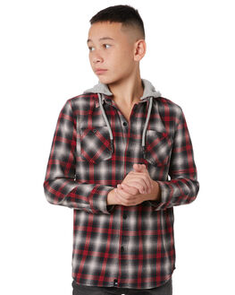 RED KIDS BOYS ST GOLIATH TOPS - 2432030RED