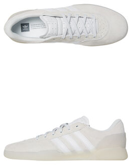 WHITE WHITE MENS FOOTWEAR ADIDAS SKATE SHOES - B22726WHI