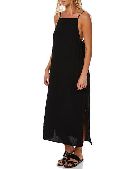 BLACK WOMENS CLOTHING RUSTY DRESSES - DRL0845BLK