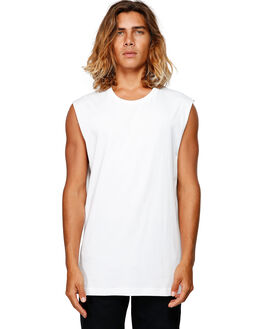 WHITE MENS CLOTHING BILLABONG SINGLETS - BB-9582506-WHT