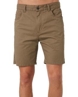 OLIVE MENS CLOTHING RUSTY SHORTS - WKM0867OLV