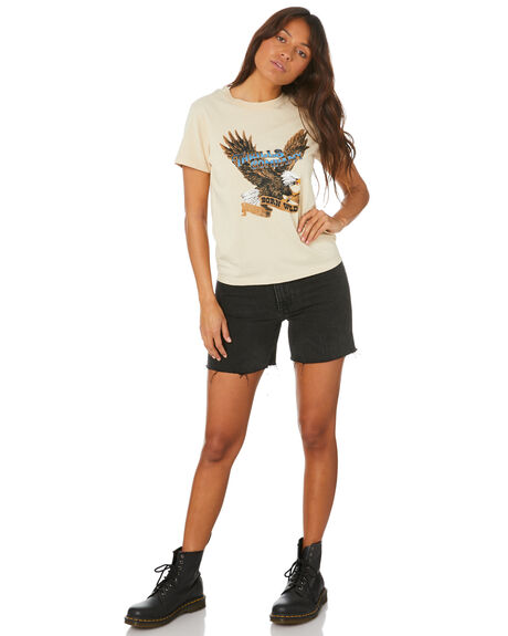 THRIFT WHITE WOMENS CLOTHING THRILLS TEES - WTH20-108ATWHT
