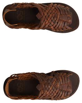BROWN/BROWN/BLACK MENS FOOTWEAR QUIKSILVER FASHION SHOES - AQYL100781-XCCK