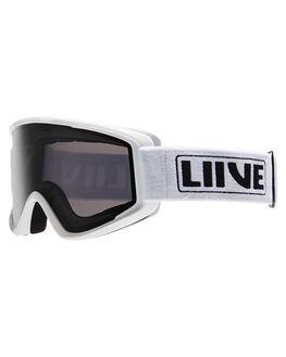 WHITE BOARDSPORTS SNOW LIIVE VISION GOGGLES - L0693BWHT