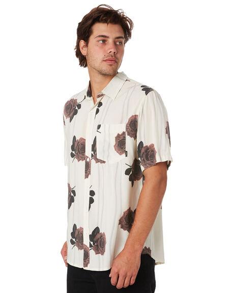 DIRTY WHITE MENS CLOTHING THRILLS SHIRTS - TS9-203ADTWHT