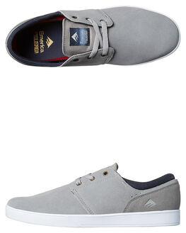 GREY MENS FOOTWEAR EMERICA SKATE SHOES - 6102000092020