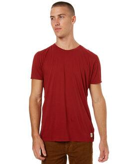 MANTLE RED MENS CLOTHING NUDIE JEANS CO TEES - 131541C21