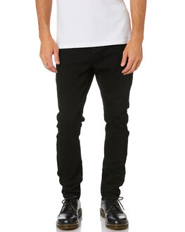 JET BLACK MENS CLOTHING INSIGHT JEANS - 1000079235JTBLK