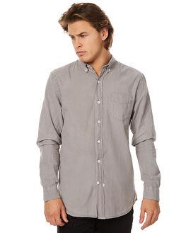 STONE MENS CLOTHING ASSEMBLY SHIRTS - AM-W21713STONE