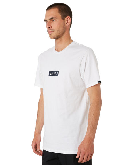 WHITE DRESS BLUES MENS CLOTHING VANS TEES - VNA3HREK9TWHT
