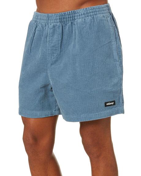 BLUE MENS CLOTHING STUSSY SHORTS - ST001603BLUE