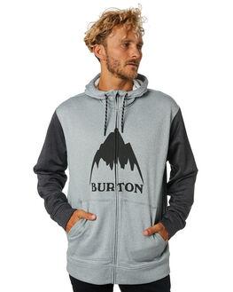 HEATHER BLACK MENS CLOTHING BURTON JUMPERS - 16224106020HTHBL